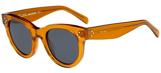 Céline BABY AUDREY CL 41053/S TRASPARENT ORANGE/GREY BLUE