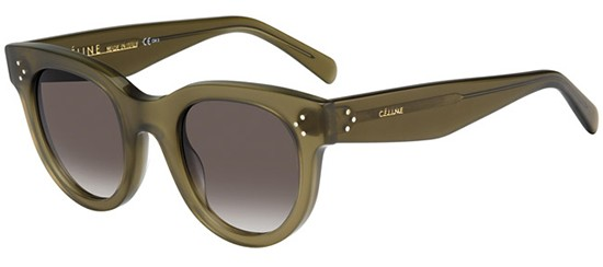 Céline BABY AUDREY CL 41053/S MILITARY GREEN/BROWN GREY SHADED