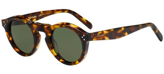 Céline BEVEL ROUND CL 41370/S BLONDE TORTOISE/GREY GREEN