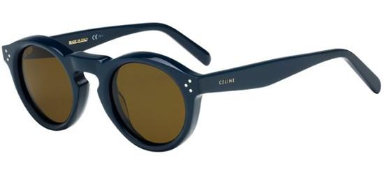 Céline BEVEL ROUND CL 41370/S BLUE/BROWN
