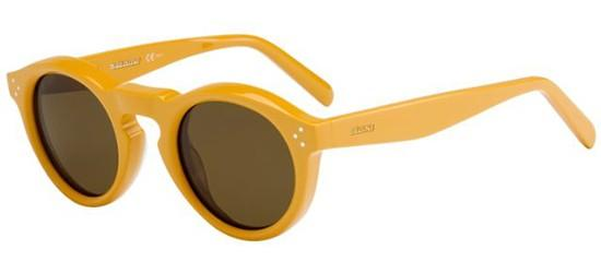 Céline BEVEL ROUND CL 41370/S YELLOW/BROWN