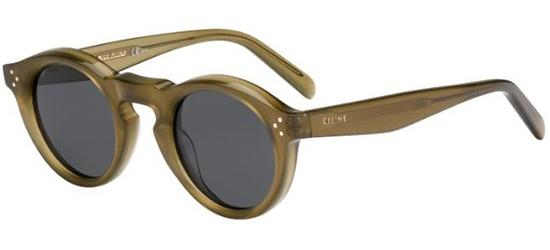 Céline BEVEL ROUND CL 41370/S OLIVE/DARK GREY