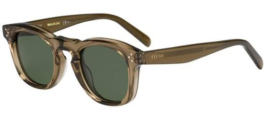 Céline BEVEL SQUARE CL 41371/S MUD/GREY GREEN