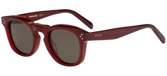 Céline BEVEL SQUARE CL 41371/S BURGUNDY/BROWN