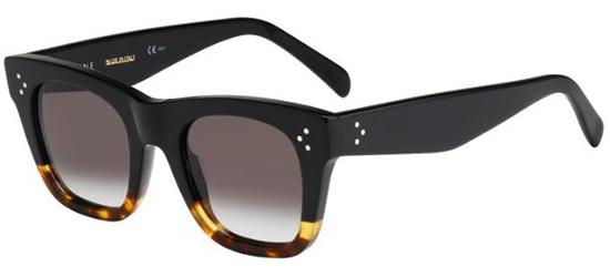 Céline CATHERINE SMALL CL 41089/S BLACK HAVANA/GREY BROWN SHADED
