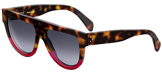 Céline CL 41026/S SHADOW HAVANA FUCHSIA/GREY SHADED