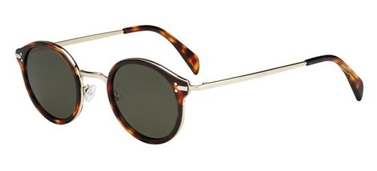Céline JOE CL 41082/S HAVANA PALE GOLD/GREEN