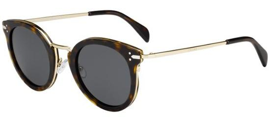 Céline LEA CL 41373/S DARK HAVANA GOLD/GREY BLUE