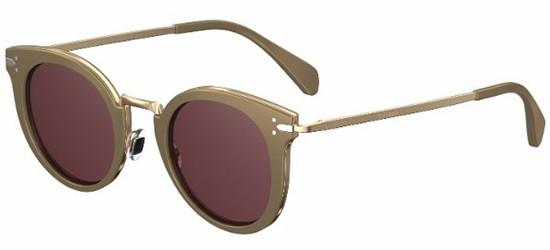 Céline LEA CL 41373/S LIGHT BROWN GREY GOLD/RED PINK