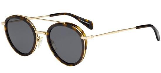 Céline MIA CL 41424/S DARK HAVANA GOLD/GREY BLUE