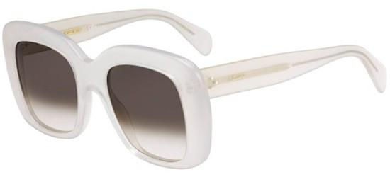 Céline STELLA CL 41433/S MATTE WHITE/BROWN GREY SHADED