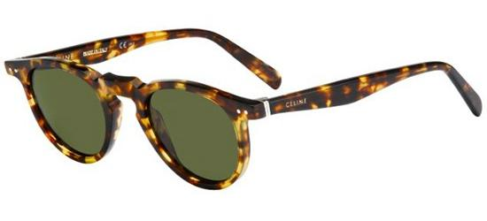 Céline THIN CHARLINE CL 41401/S BLONDE TORTOISE/GREY GREEN