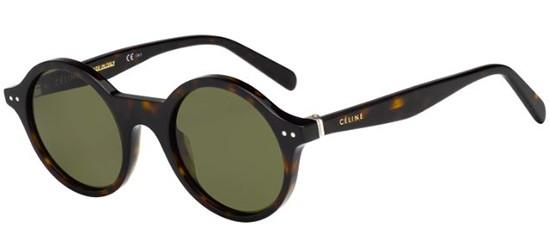 Céline THIN JANE CL 41434/S DARK HAVANA/GREEN