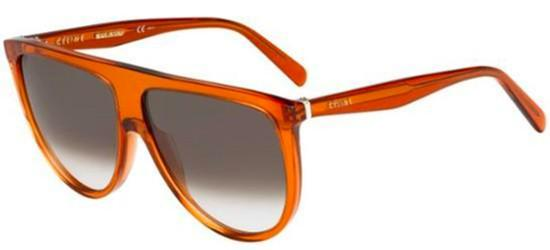 Céline THIN SHADOW CL 41435/S DARK ORANGE/BROWN SHADED