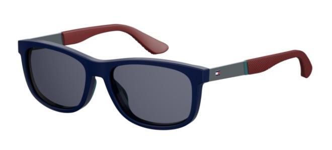 Occhiali da sole Tommy Hilfiger 1520//S PJP TH KU nero grigio blu