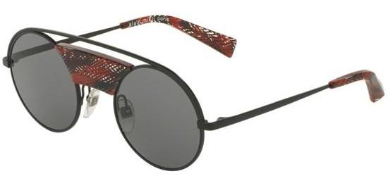 Alain Mikli 0A04002 MATTE BLACK CHEVRON RED/DARK GREY