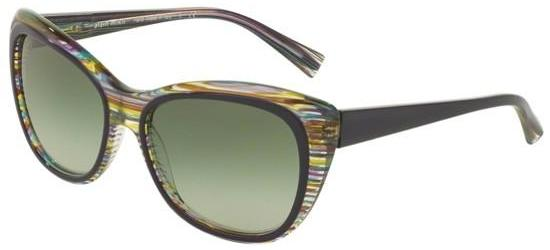 Alain Mikli 0A05024 VIOLET STRIPED YELLOW GREEN/GREEN SHADED