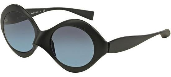 Alain Mikli PROVOCATION 0A05017 MATTE BLACK/BLUE SHADED