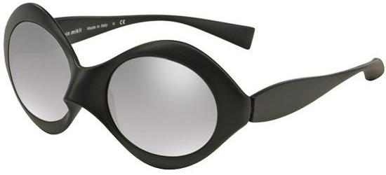 Alain Mikli PROVOCATION 0A05017 MATTE BLACK/SILVER MIRROR