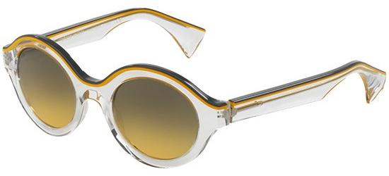 Alain Mikli SOLAIRE 0A05019 GREY YELLOW CRYSTAL/YELLOW SHADED