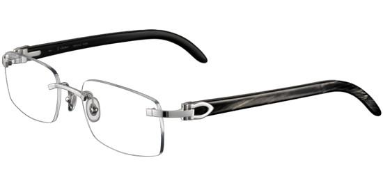 cartier c décor eye00080 unisex eyeglasses online sale