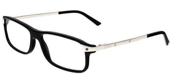 Cartier Eyeglasses Frames Mens : Cartier Santos De T8101225 men Eyeglasses online sale