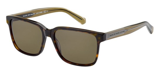 Marc by Marc Jacobs MMJ 410/S HAVANA BROWN/BROWN