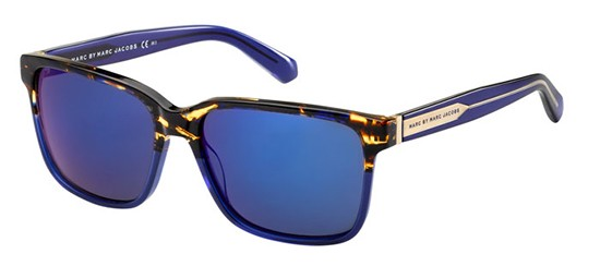 Marc by Marc Jacobs MMJ 410/S HAVANA BLUE/BLUE MULTILAYER