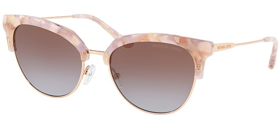 MICHAEL KORS Michael Kors Damen Sonnenbrille »SAVANNAH MK1033«, schwarz, 333913 - schwarz