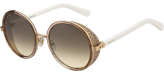 6327dc8b6d92e1 Jimmy Choo ANDIE N S COPPER GOLD WHITE BROWN GOLD SHADED
