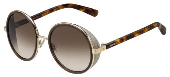 Jimmy Choo ANDIE/S BROWN ROSE GOLD HAVANA/BROWN SHADED