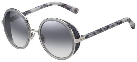 Jimmy Choo ANDIE/S PALLADIUM GREY HAVANA/GREY SEMI-MIRROR
