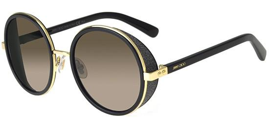 Jimmy Choo ANDIE/S ROSE GOLD BLACK/BROWN SHADED