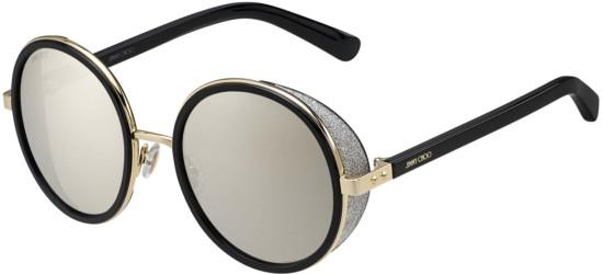 Jimmy Choo ANDIE/S ROSE GOLD BLACK /GREY MIRROR