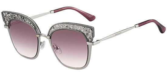 c499ba7fcafd Jimmy Choo ROSY S MATTE SILVER PINK SHADED women AUTHENTIC ...