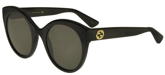Gucci Gucci GG0028S BLACK/GREY