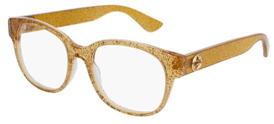 Gucci GG0040O GLITTER GOLD
