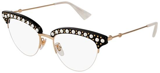 Occhiali da Vista Gucci GG0072O 001 Q9v0PQnf