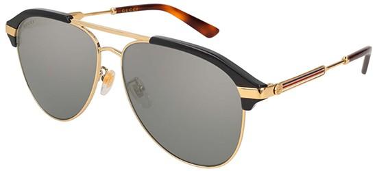 8b6bc1f540b Gucci GG0288SA BLUE SILVER men AUTHENTIC Sunglasses 889652127972