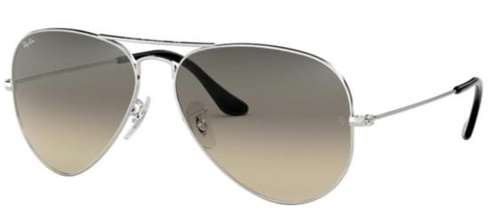 Ray-Ban AVIATOR LARGE METAL RB 3025 SILVER/GREY SHADED