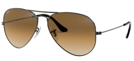 Ray-Ban Ray-Ban AVIATOR LARGE METAL RB 3025 RUTHENIUM/BROWN SHADED