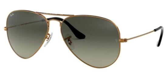 Ray-Ban AVIATOR LARGE METAL RB 3025 COPPER/GREY SHADED