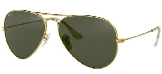 Ray-Ban Ray-Ban AVIATOR LARGE METAL RB 3025 GOLD/GREY GREEN