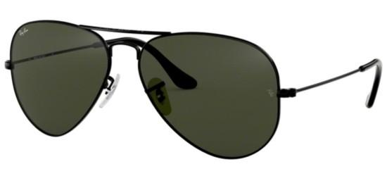 Ray-Ban AVIATOR LARGE METAL RB 3025 BLACK/GREY GREEN