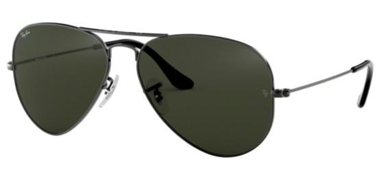 Ray-Ban Ray-Ban AVIATOR LARGE METAL RB 3025 GUNMETAL/GREY GREEN