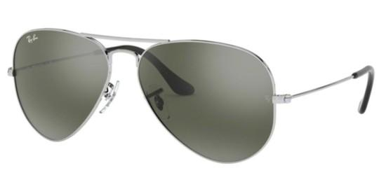 Ray-Ban AVIATOR LARGE METAL RB 3025 SILVER/CRYSTAL SILVER MIRROR