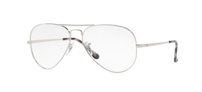 Ray-Ban eyeglasses AVIATOR LARGE METAL RX 6489