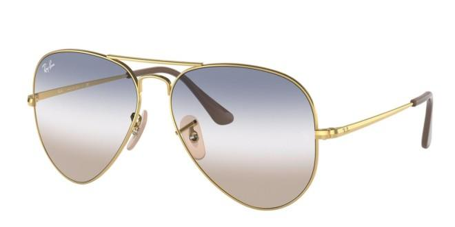 Ray-Ban solbriller AVIATOR METAL II RB 3689