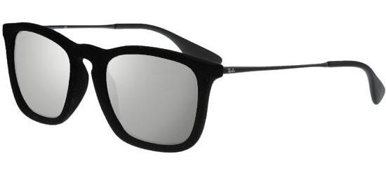 Ray-Ban CHRIS RB 4187 BLACK VELVET/GREY MIRROR