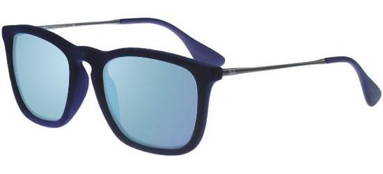 Ray-Ban CHRIS RB 4187 BLUE VELVET/GREY BLUE MIRROR